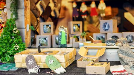 A Christmas craft fair Picture: Getty Images/iStockphoto