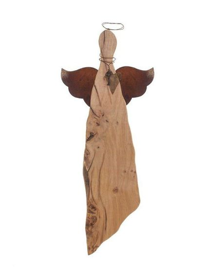 Wooden angel by Suze Lake Picture: supplied by artist