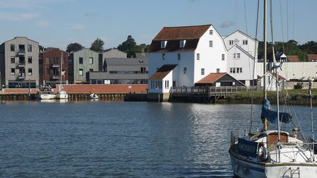 The historic Tide Mill in Woodbridge where you can see flour being milled in the traditional way it