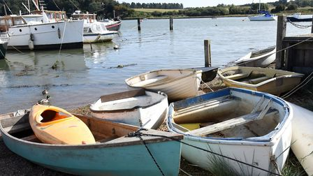 The riverside is a lovely place to while away some time in Woodbridge. Image: CHARLOTTE BOND