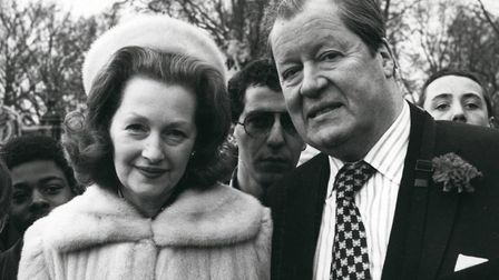 This 1962 photo shows the 8th Earl Spencer, father of Prince Charles' fiancee, Lady Diana Spencer. W