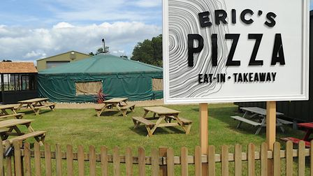 Eric's Pizza at Drove Orchards, Thornham, near Hunstanton Picture: Chris Bishop