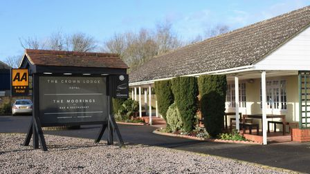 The Crown Lodge Hotel Restaurant at Outwell. Picture: DENISE BRADLEY