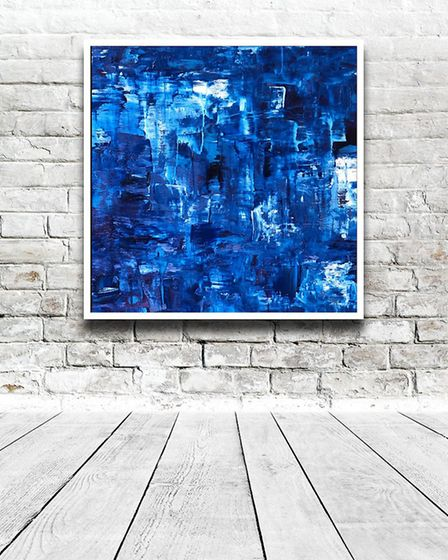 Carol Burns - Blue Series (2020)