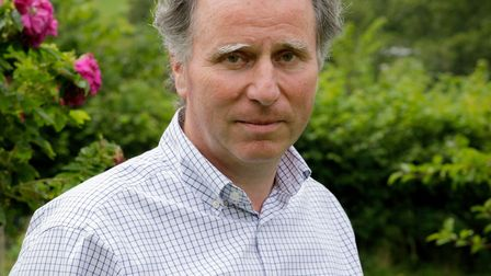 Sir Oliver Letwin, photographed in his garden in 2020 Photo Peter Yendell