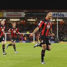 Joshua King celebrates making it 2-1 during Bournemouth v Manchester United (12 December 2015) Photo