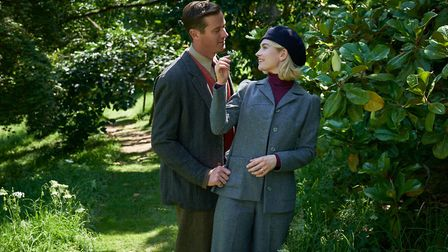 Costume designer, Julian Day used darker greener tones for the clothing when the action moved to the