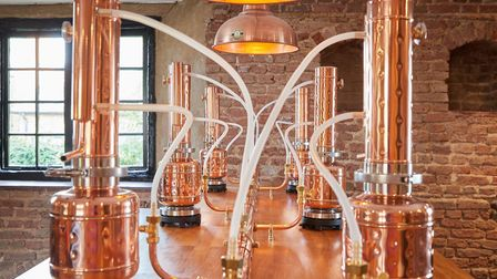 You can make your own gin at the new WhataHoot distillery