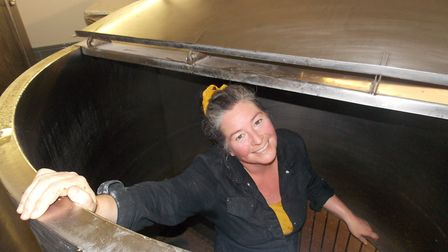 Jennifer first started considering her own brewery seven years ago. Picture: Southbourne Ales