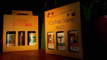 'There is something for everybody within our range of very traditional beers.' Picture: Southbourne