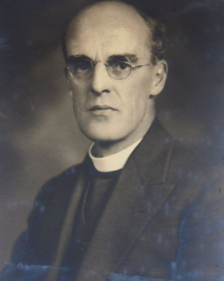 Alan Campbell Don, who was chaplain to four monarchs and left his family at North Elmham a trunk con