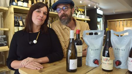 Saltpeter Wines will work closely with local businesses in the area, including Ipswich's Hopsters an