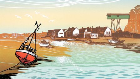 Across the Harbour, Wells, by Rob Barnes