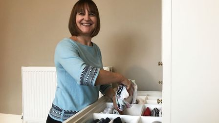 Anita Fortes will help your organise your home. Picture: Ella Wilkinson