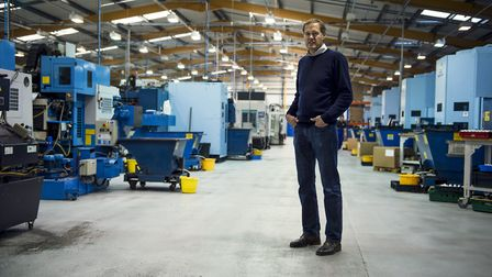 Ian Wetherill in Hope Technology's Barnoldswick factory