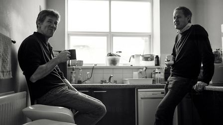 Hope Technology founders Simon Sharp and Ian Wetherill. Simon died four years ago and the business i