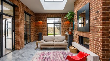 The external aesthetic is reflected in the unfussy interior