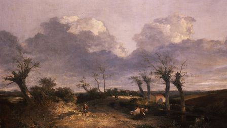 John Crome, Road with Pollards c.1815, oil on canvas. Image courtesy: Norfolk Museums Service/Norwi