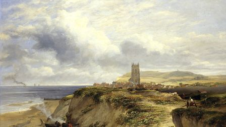 James Stark, Cromer circa 1837, oil on deal panel. Image courtesy: Norfolk Museums Service/Norwich