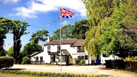 The 'destination pub' is steeped in history and beauty. Picture: The Rose and Crown