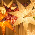 Look out for gorgeous gifts like these paper stars made by Paper Starlights
