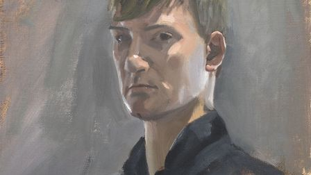 Self portrait, aged 17, by Kieron Williamson