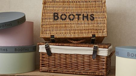 A hamper of indulgent festive treats can make a special and personalised gift. Picture: Booths