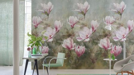 Large mural style wall hangings have become very fashionable in the past few years. PHOTO Mel Thorne