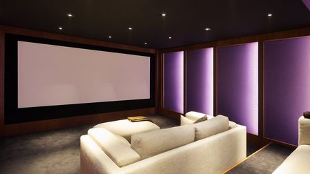 Cutting-edge cinema rooms where you can relax in front of blockbuster movies - our homes are getting