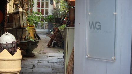 The Westcroft Gallery in Kingsand