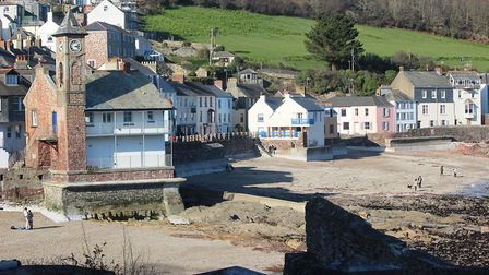Clock Tower and Town of Kingsand