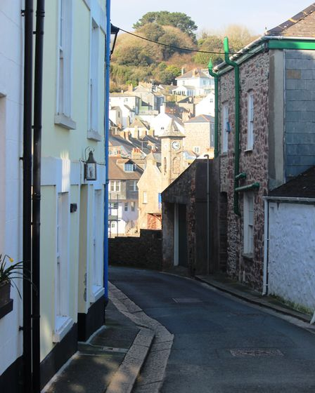 Pretty streets in Cawsand