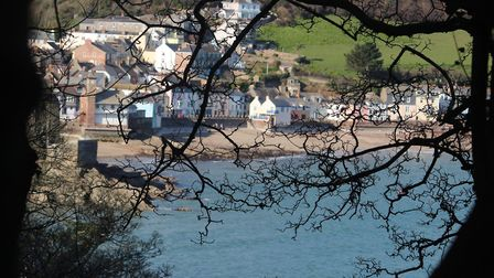 Crawsand and Kingsand from the coast path