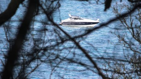 Boats spotted from the Rame Peninsula
