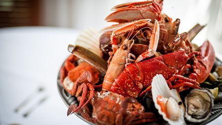 Fruits de mer at The Seafood Restaurant Photo David Griffin Photography
