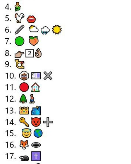How many can you guess?