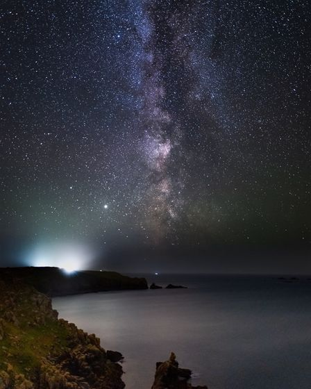The Milky Way seen from Sennen by Chris Colyer