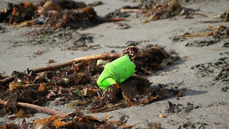 Abandoned plastic toys release hazardous chemicals as they decompose