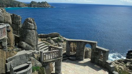 Answer: What is the name of the open-air theatre in Porthcurno?