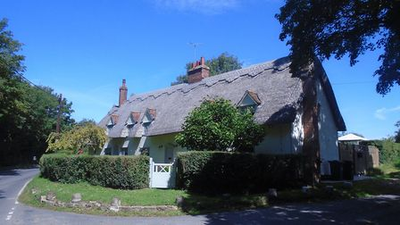 The sleepy village of Great Sampford is sprinkled with pretty thatched cottages (photo: Laurie Page)