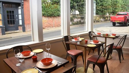 Ruth Watson and Rob Walpole have opened a new Italian restaurant in Framlingham Picture: CHARLOTTE