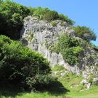The 'Rock of Ages' in Burrington Combe which, allegedly, inspired the hymn. PHOTO: Simone Stanbrook-