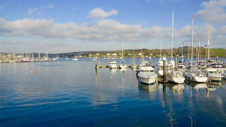 Falmouth Harbour is on of the deepest natural harbours in the world. Photo: Ewen MacDonald