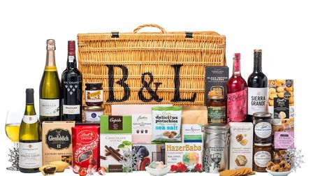 Bakers & Larners Glad Tidings hamper. Photo: Bakers & Larners