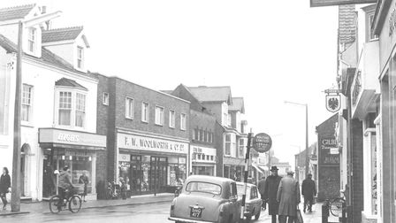 Shoppers in Sheringham High Street. Photo: Archant archive