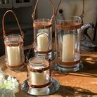 Walls of Walsham's WoW range of traditonally handcrafted leather goods includes storm lanterns and g