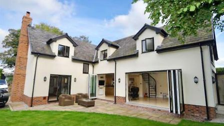 This five bedroom house at Adlington is being raffled. Tickets cost £2