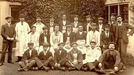 An archive picture of Bakers & Larners staff Picture: Bakers & Larners