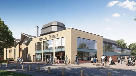 The Mercury Theatre in Colchester was due to unveil its new building in September 2020 (photo: @MercuryTheatre on Facebook)