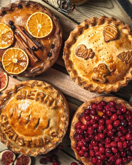 A must for any festive table, pies from The Little Saddleworth Pie Company